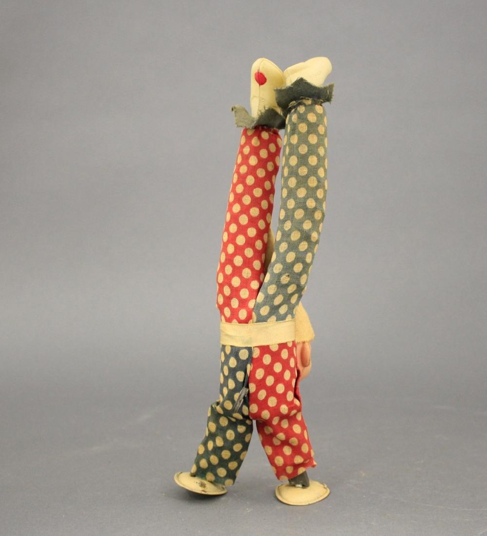 Clown Doing a Handstand - 2