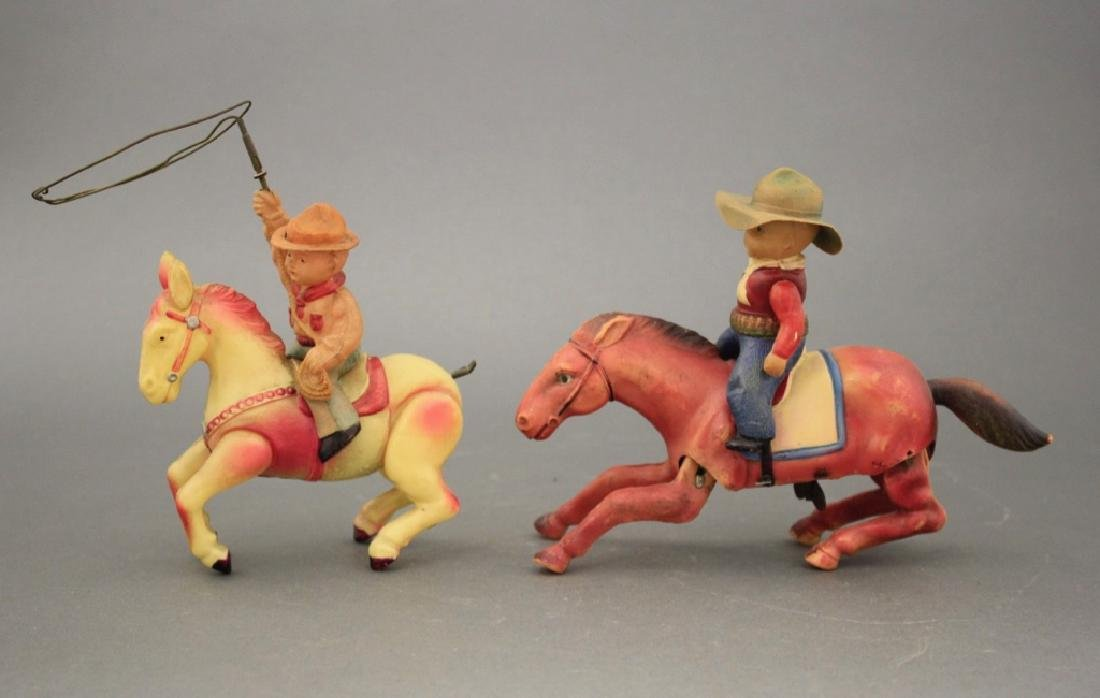Lot: Two Cowboy Themed Windups