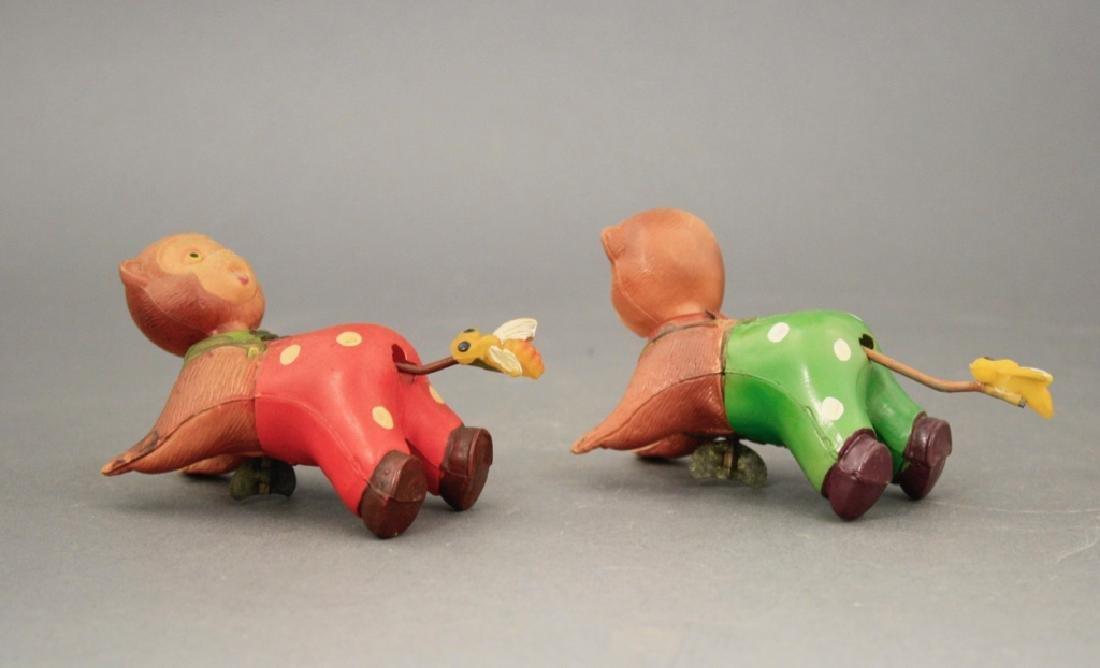Lot: Two Crawling Monkeys - 2