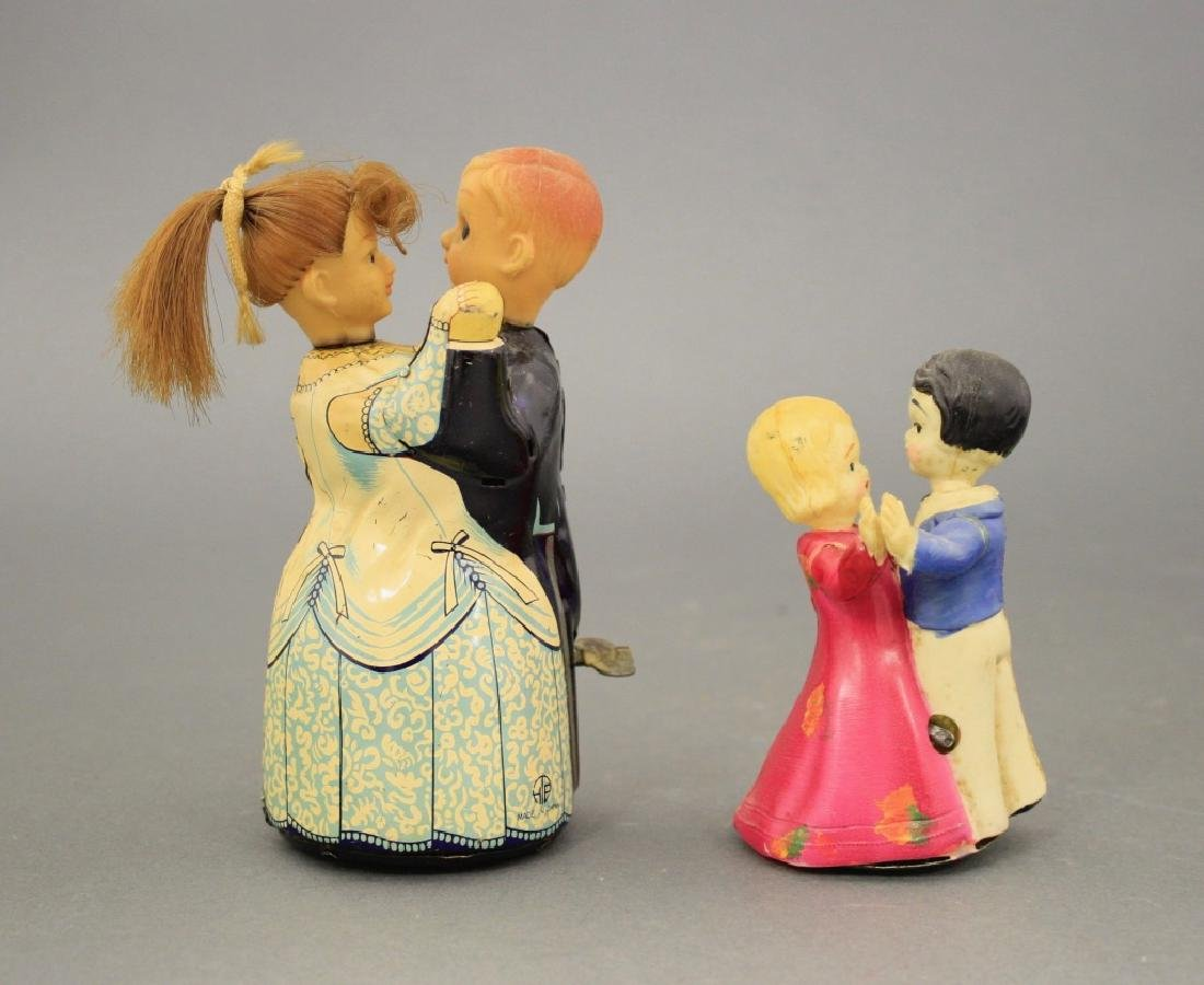 Lot: Two Dancing Couples