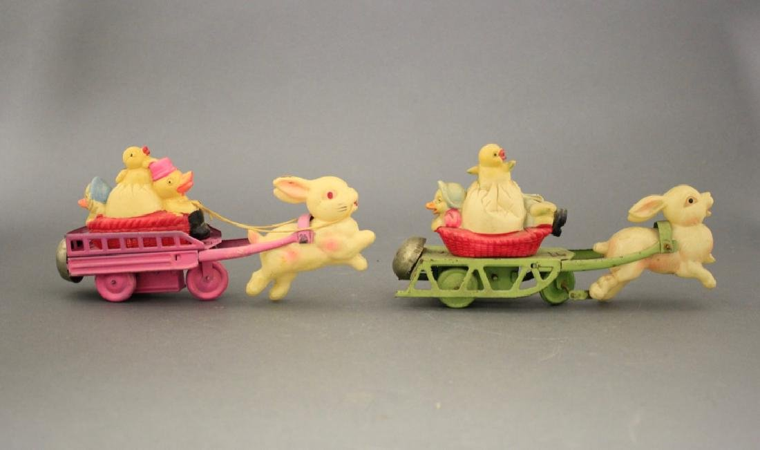 Lot: Two Easter Parade Toys