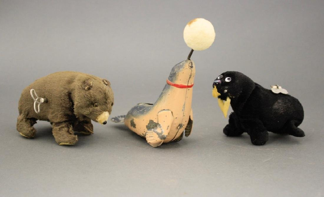 Lot: Seal, Walrus and Bear