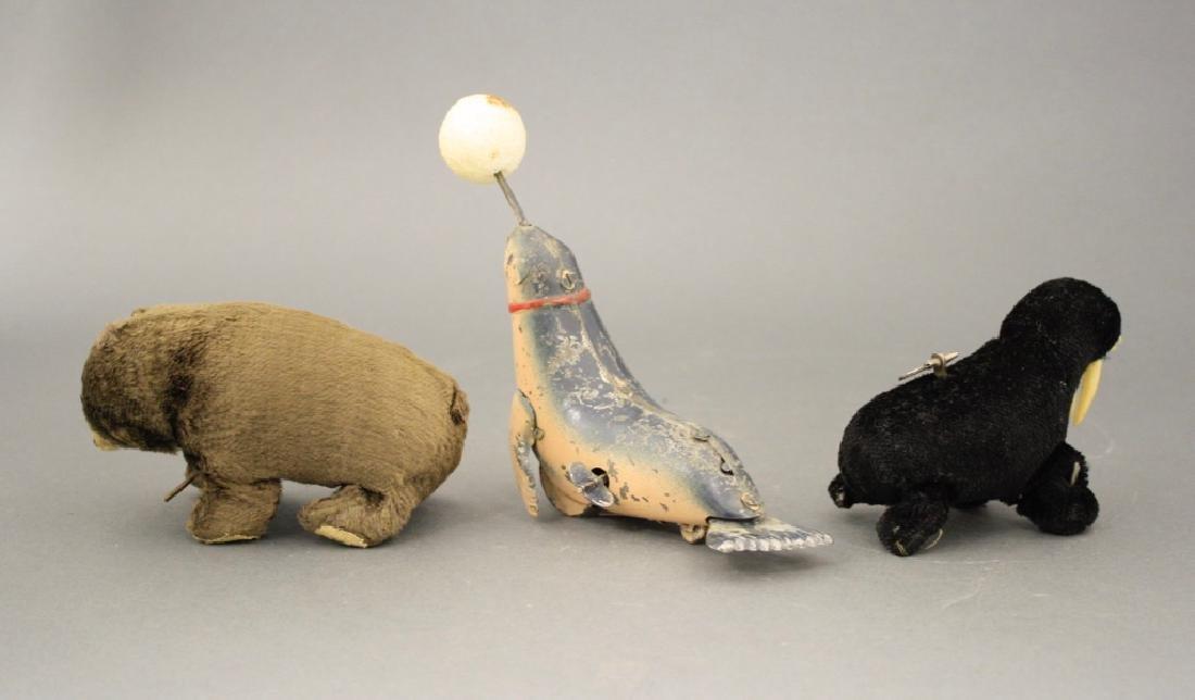 Lot: Seal, Walrus and Bear - 2