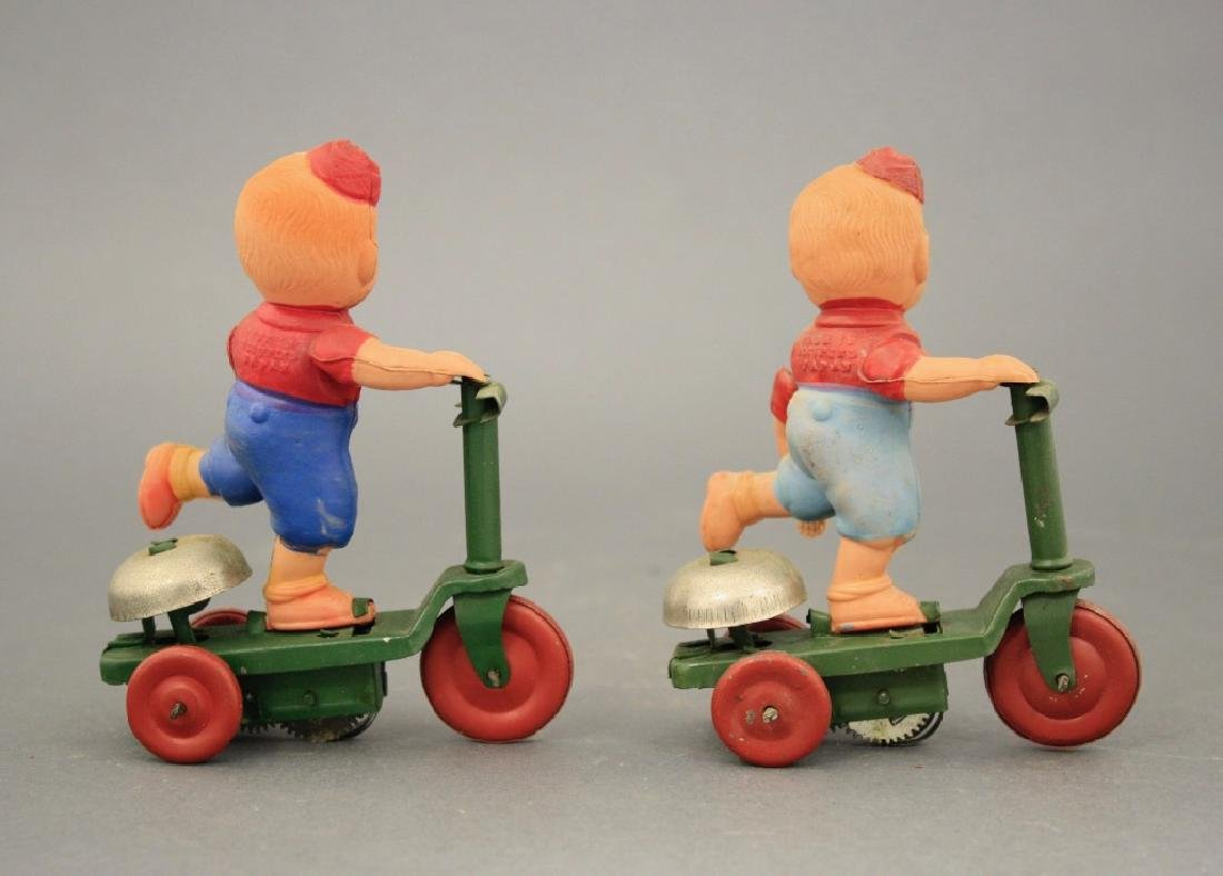 Lot: Two Boys on Scooters - 2