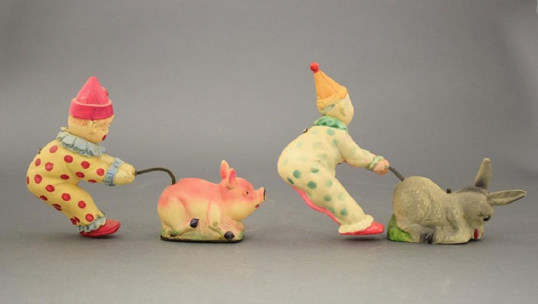 Lot: Clowns with Donkey and Pig - 2