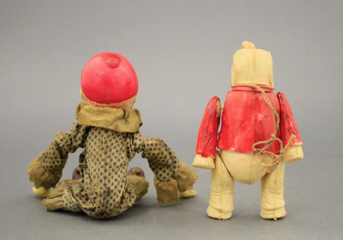 Lot: Tumbling Clown & Hanging Elephant - 2