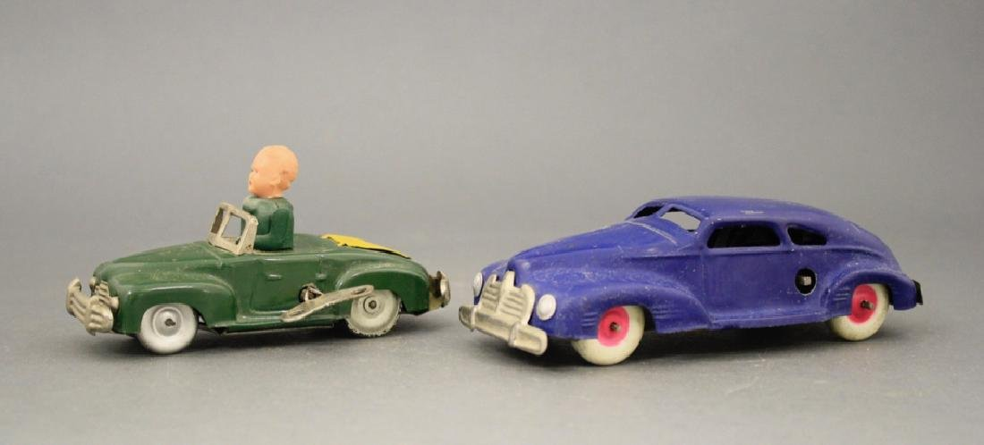 Lot: Two Windup Automobiles