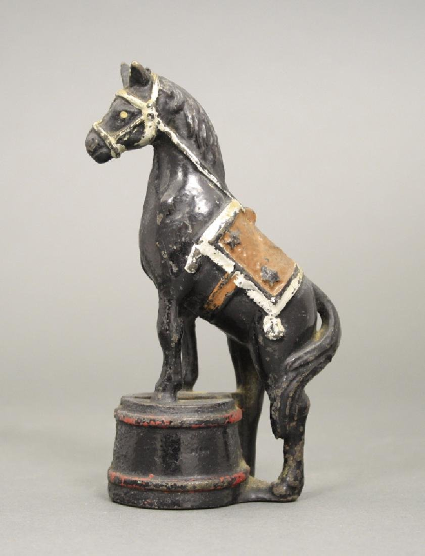 Horse on Tub, Decorated