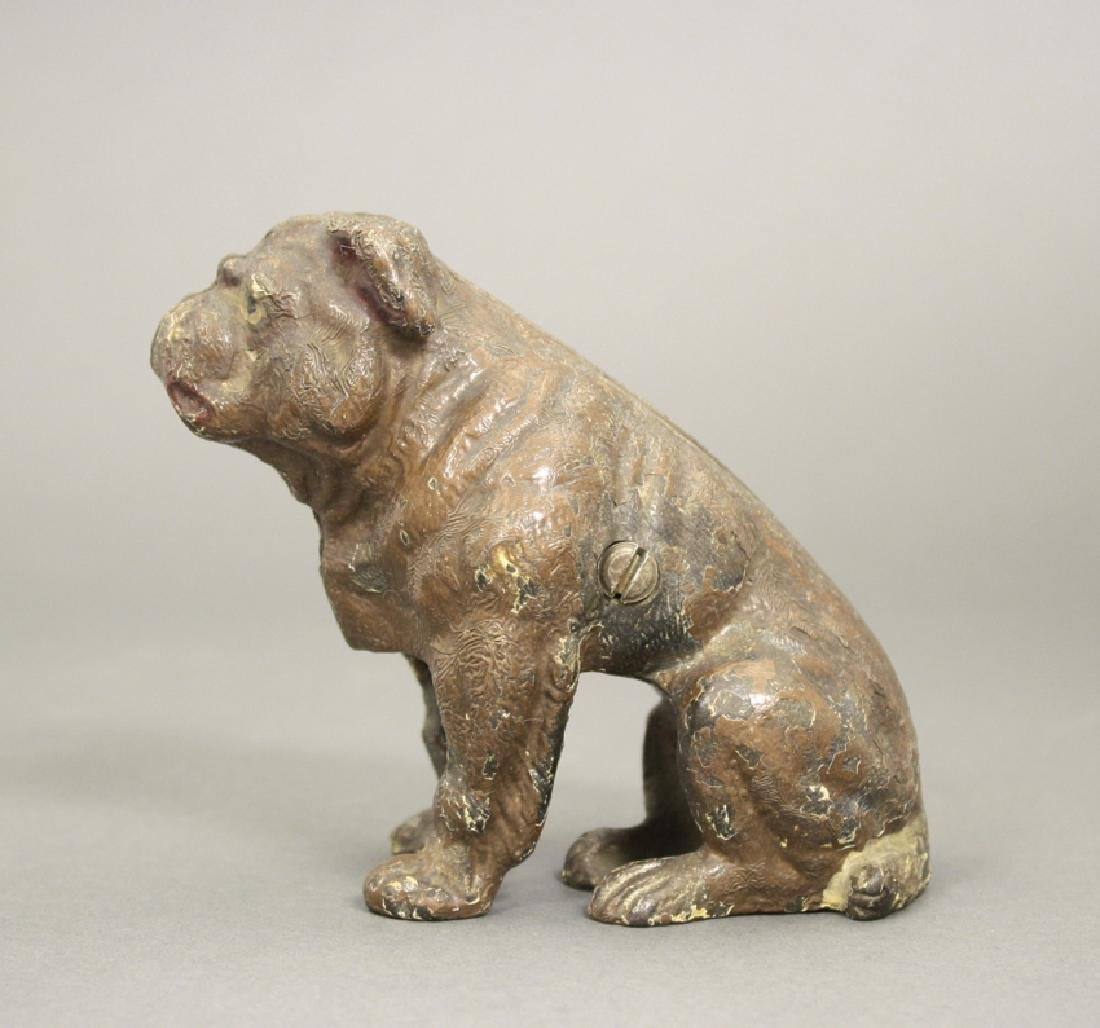 Bulldog, Seated