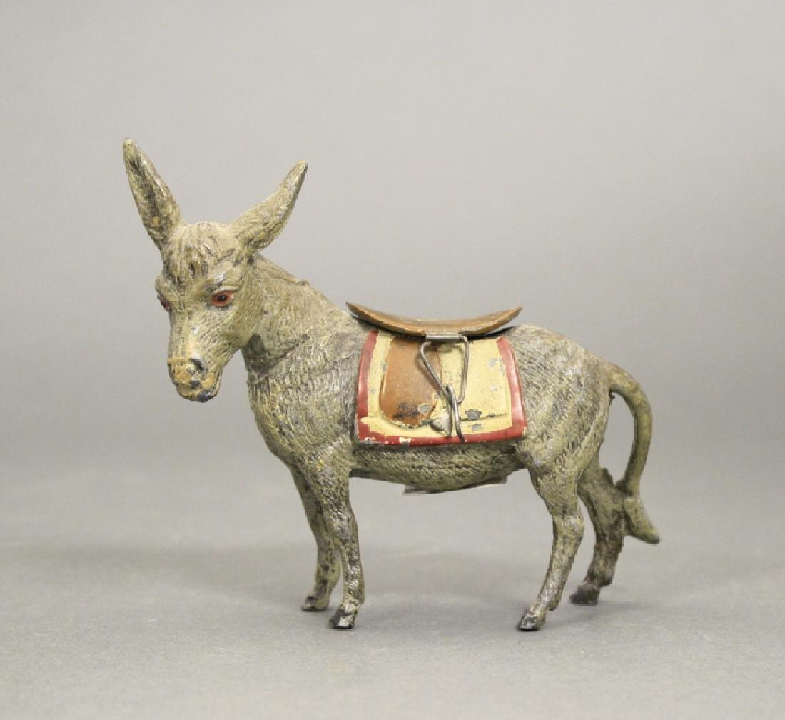 Spelter Donkey, Facing Left