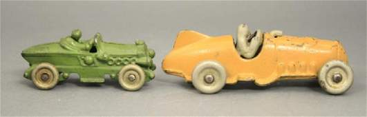 Lot: Hubley Race Cars