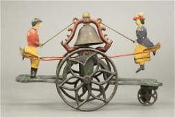 Gong Bell See Saw Bell Toy