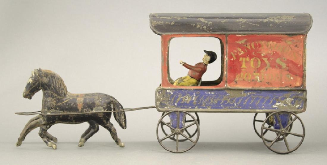 Fallows Fancy Goods Toys & Notions Wagon