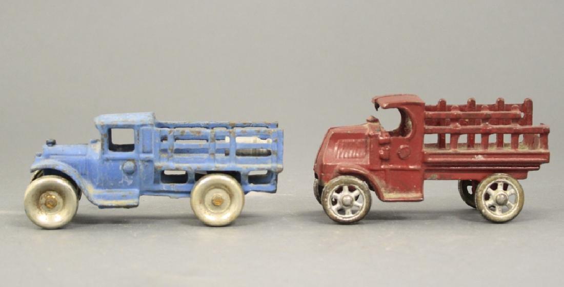 Race Car / Stake Trucks