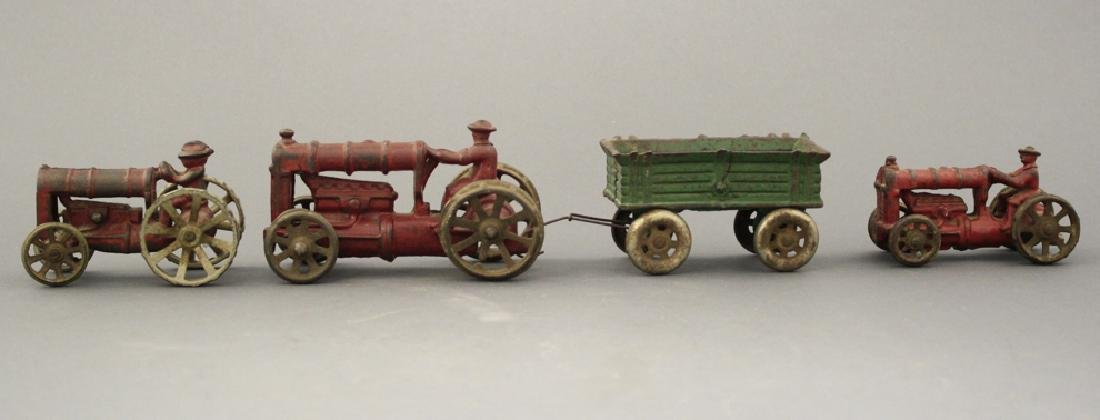 Tractors (One with Trailer)