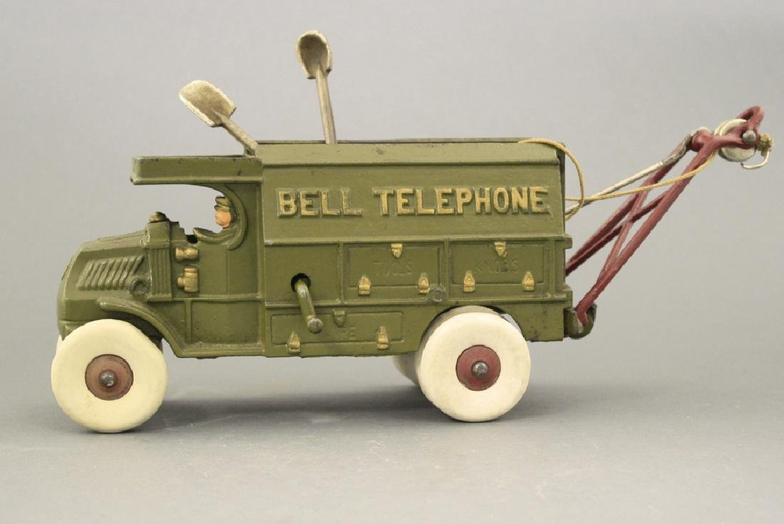 Bell Telephone Truck - Largest Size