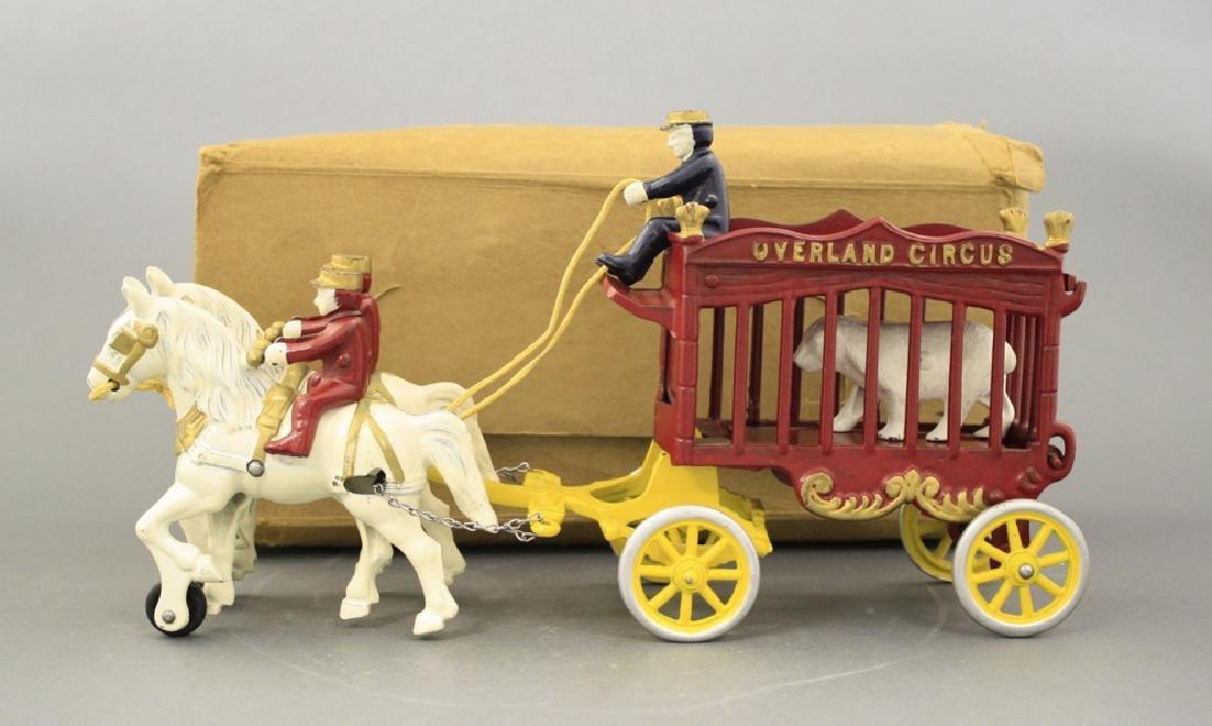 Overland Circus Polar Bear Cage Wagon