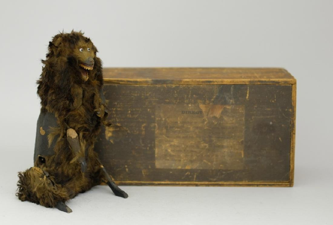 Ives, Clockwork Bear with Original Box