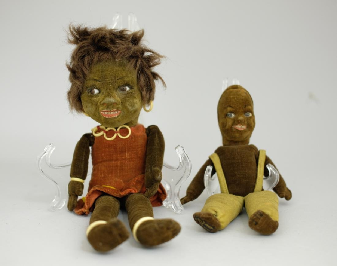 Two Black Themed Dolls