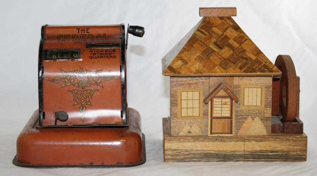 Two Still Banks Including The Federal Coin Bank
