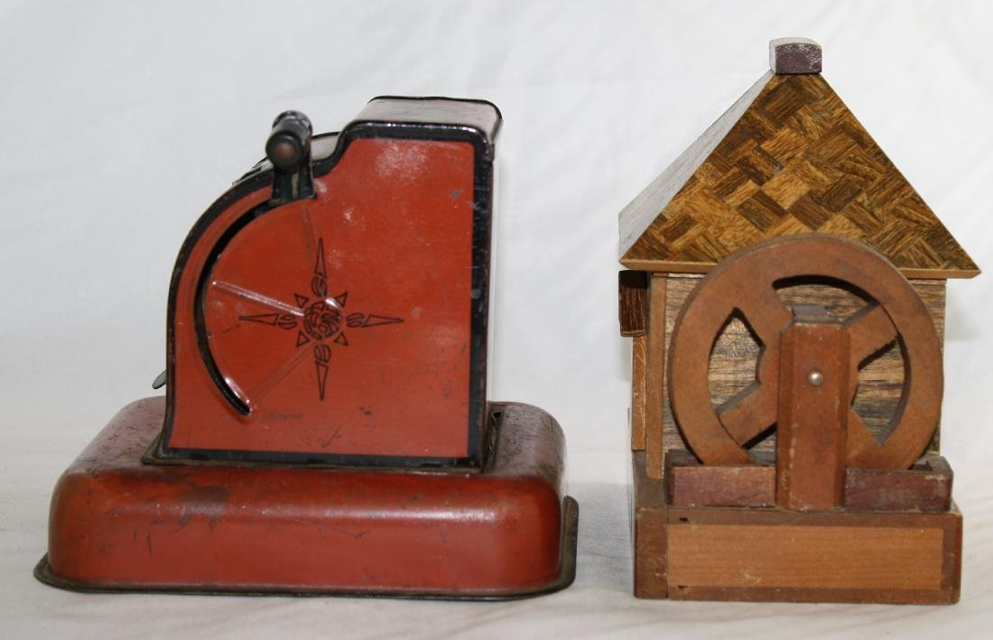 Two Still Banks Including The Federal Coin Bank - 2