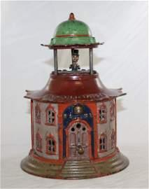 Cupola Cast Iron Mechanical Bank