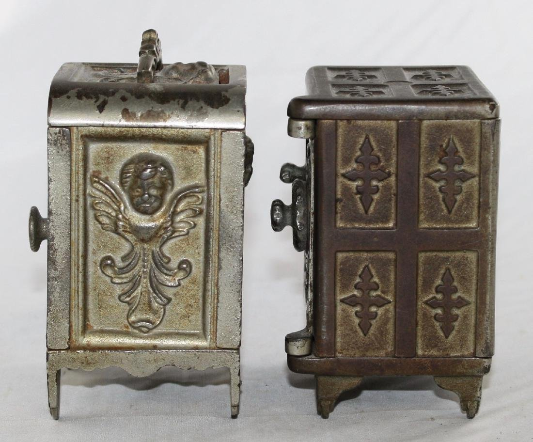 Two Cast Iron Safe Banks - 2