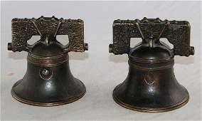 Two Liberty Bell with Yoke Banks
