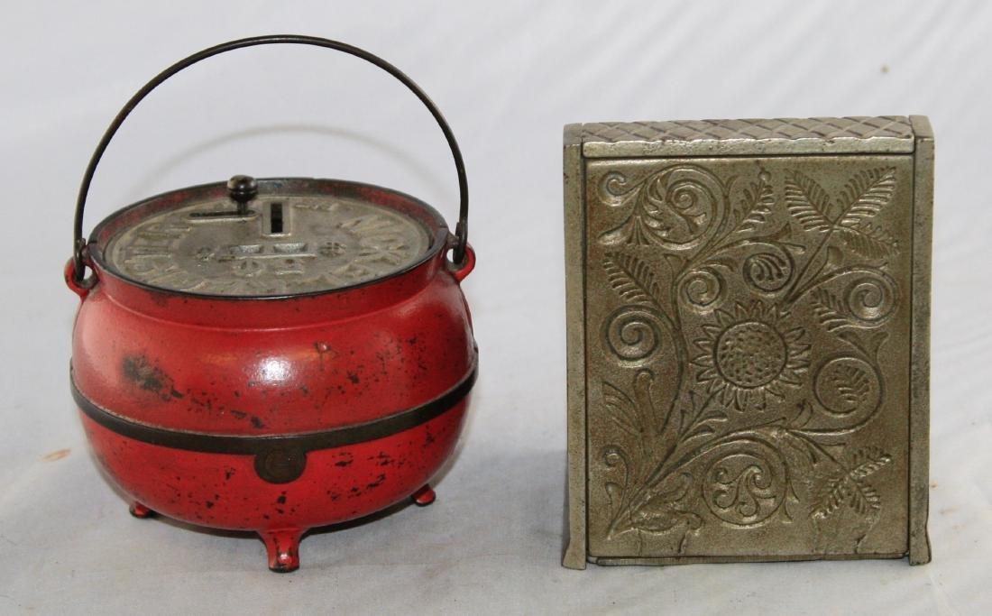 Bean Pot and Junior Cash Register Iron Banks - 3