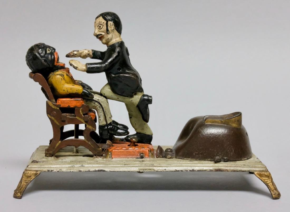 Cast Iron Dentist Mechanical Bank