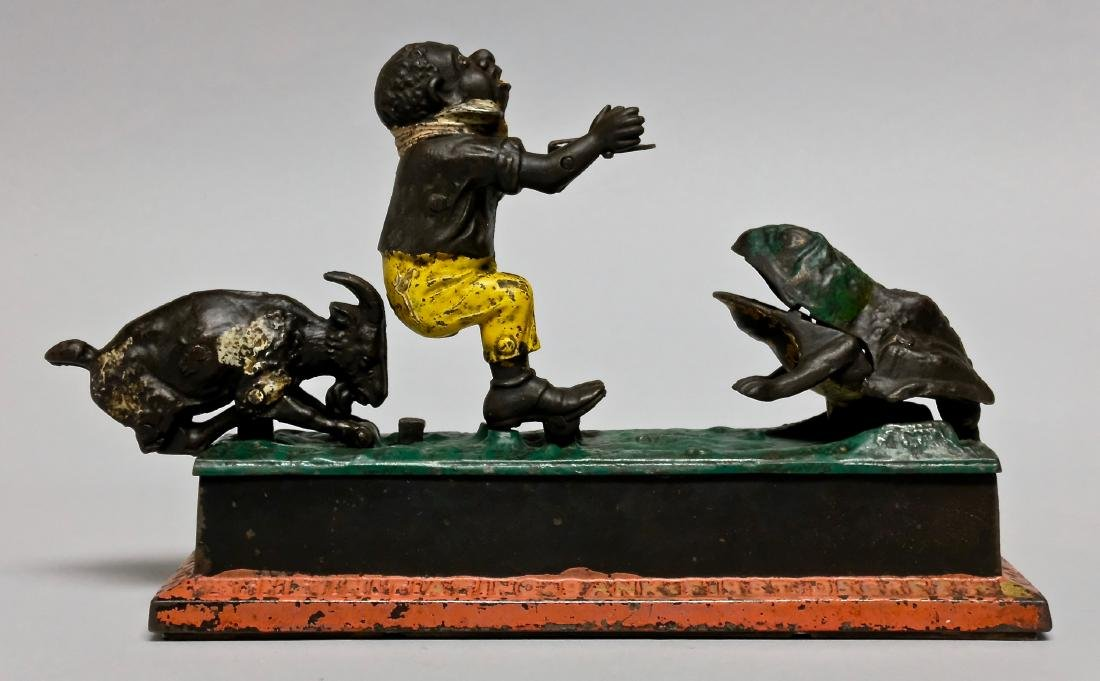 Iron Initiating First Degree Mechanical Bank - 2