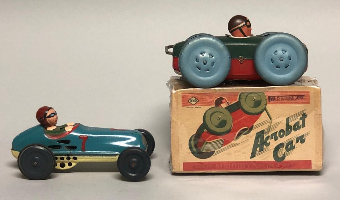 Windup Acrobat Car and Friction #7 Race Car