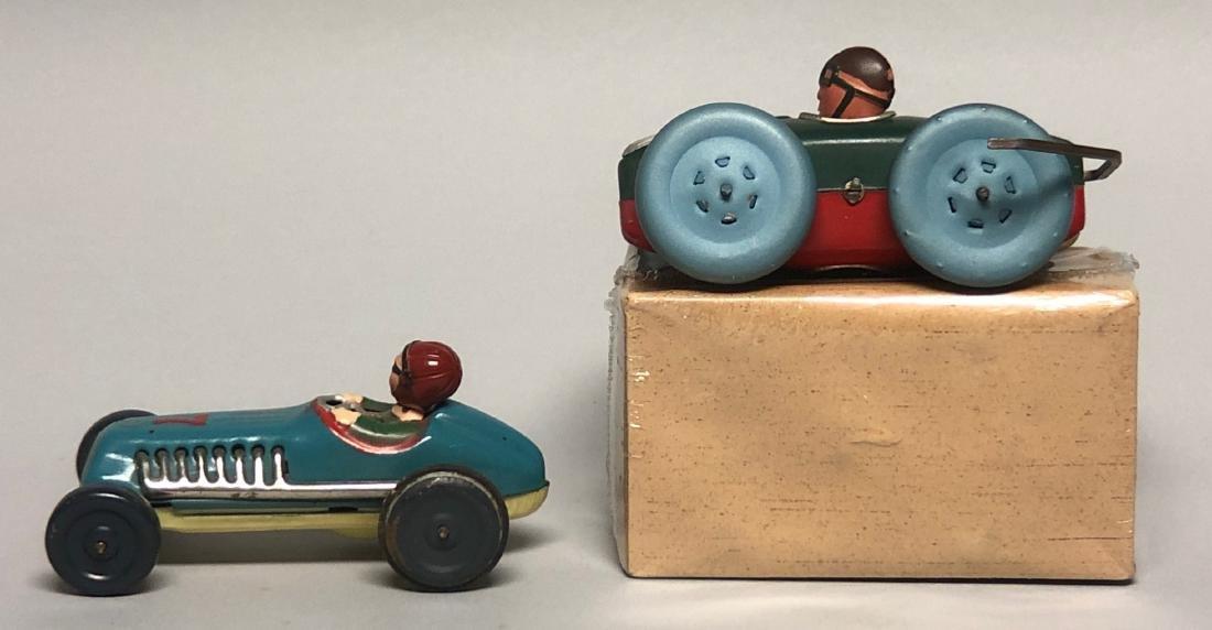 Windup Acrobat Car and Friction #7 Race Car - 2