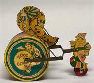 Tin Windup 2001 Circus Toy
