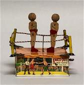 Windup Tin Strauss Knock-Out Prize Fighters