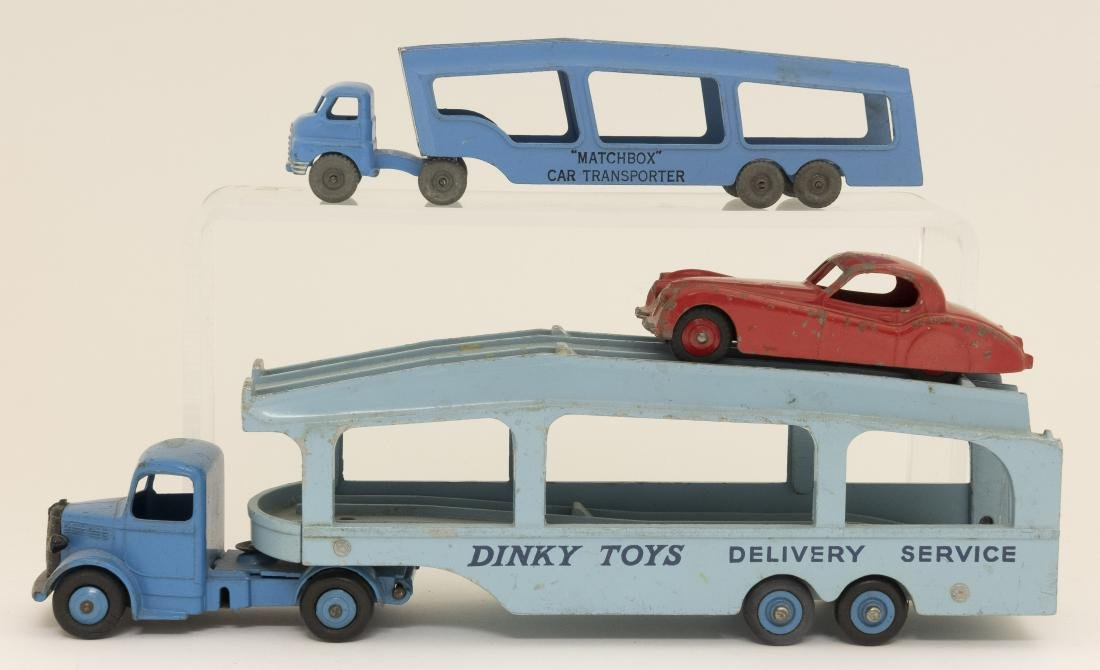 Two Car Transporters Dinky / Lesney