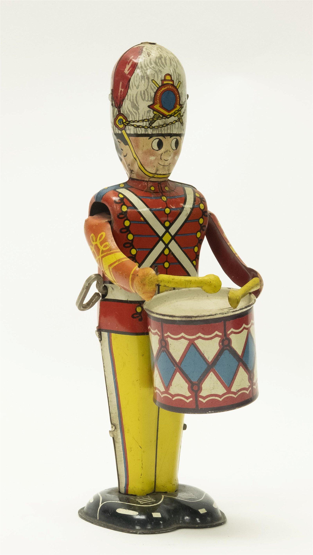 Windup Tin Marx Drummer