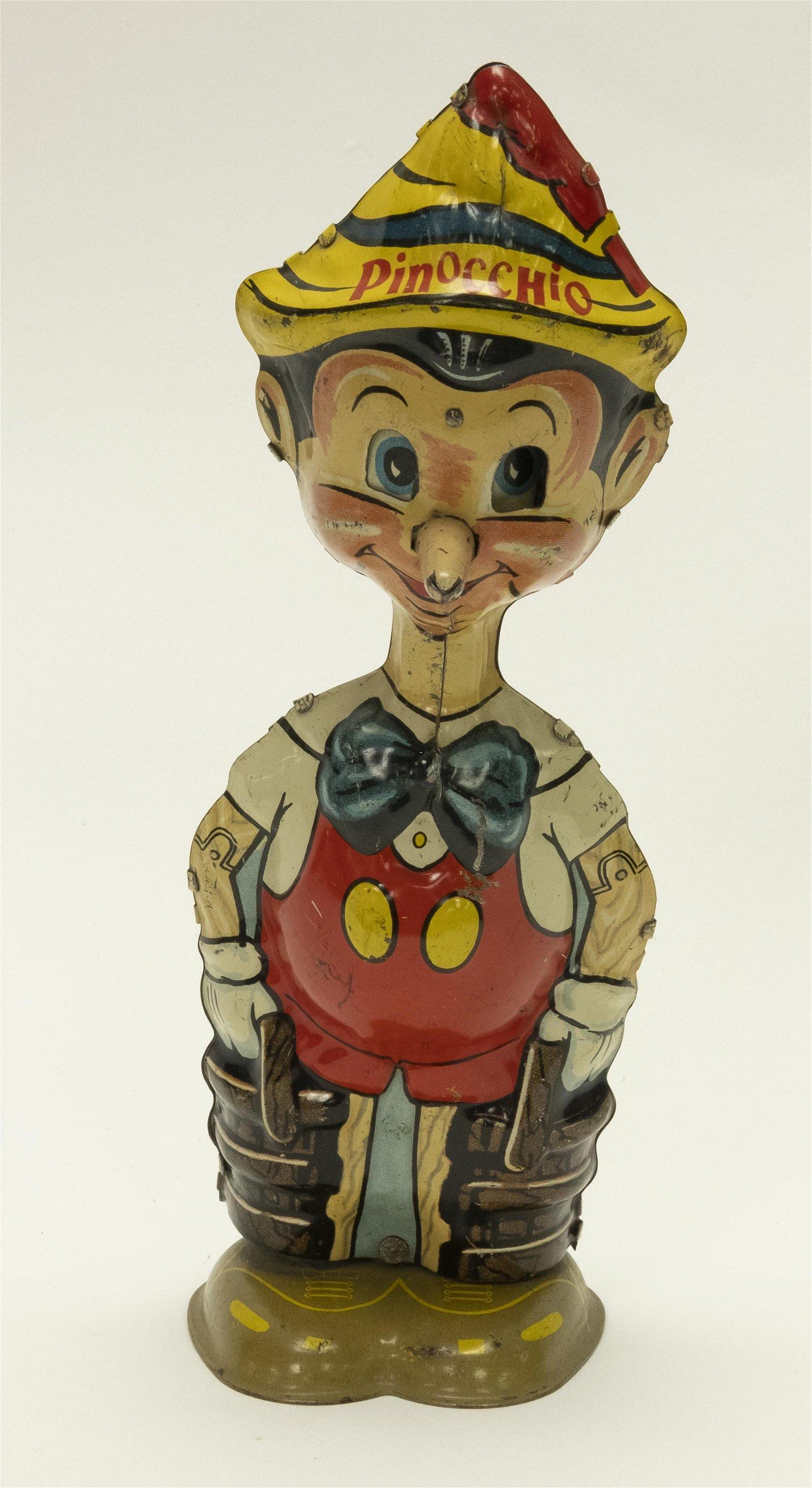 Marx Pinocchio Tin Windup Toy