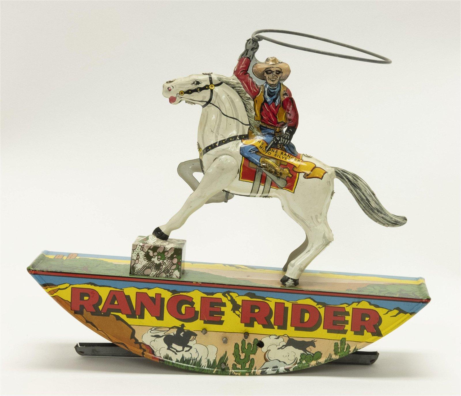 Marx Range Rider Tin Windup Toy