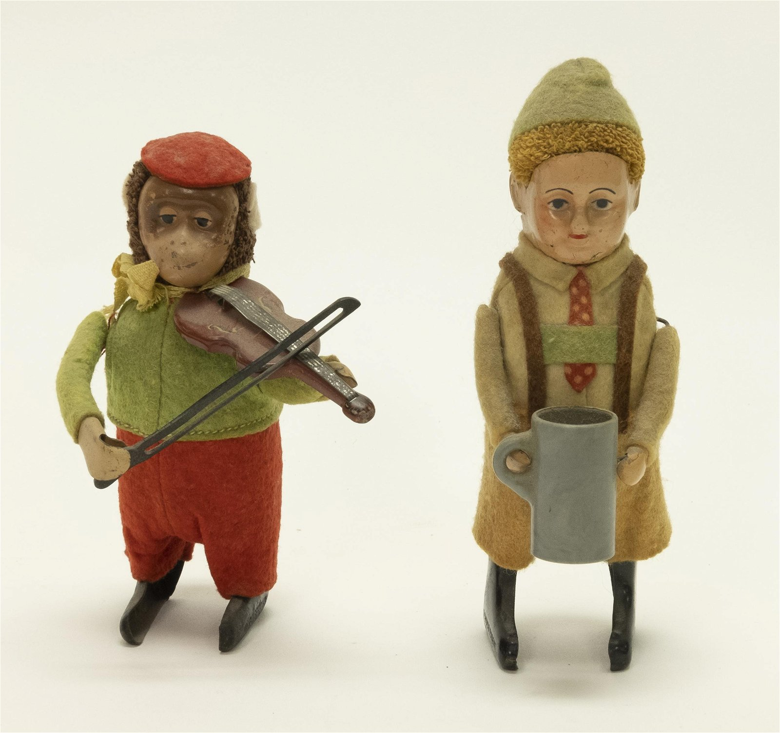 Two Schuco Windup Toys