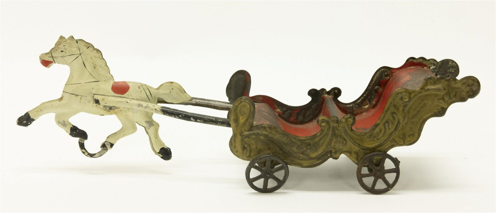 George Brown Cloud Chariot Tin Toy