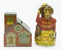 Chein Monkey Tips Hat  Church Banks