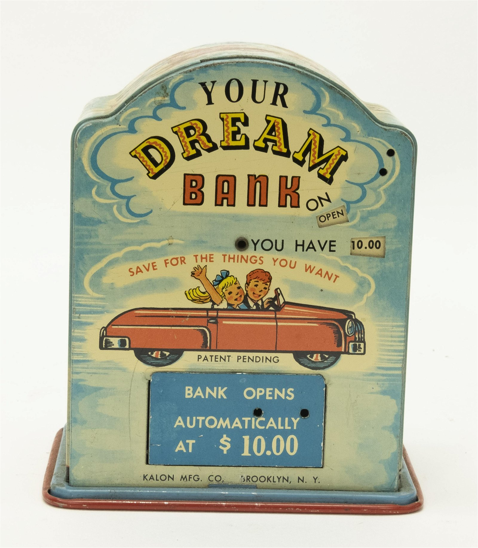 """Tin """"Your Dream Bank"""" Registering"""