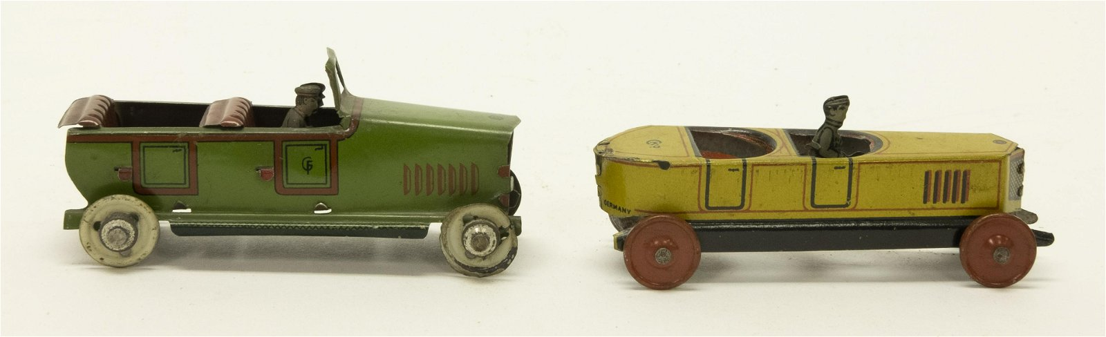 Two Touring Car Penny Toys