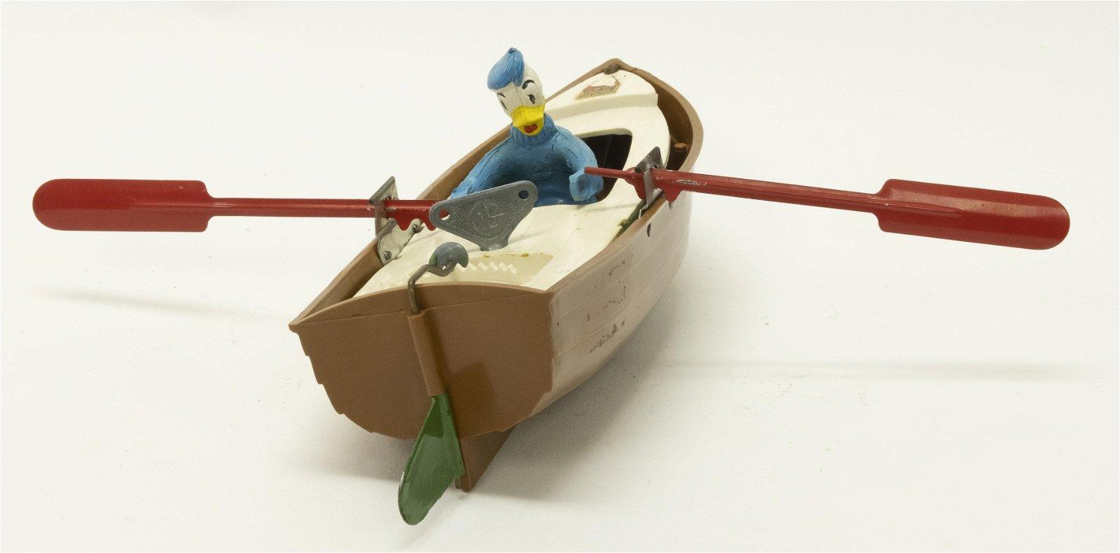 Windup Tri-Ang Donald Duck Rowboat
