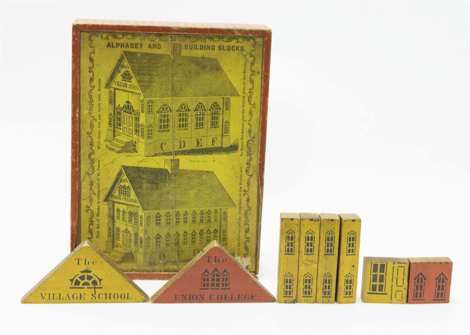 Hill's Alphabet and Building Blocks Boxed Set