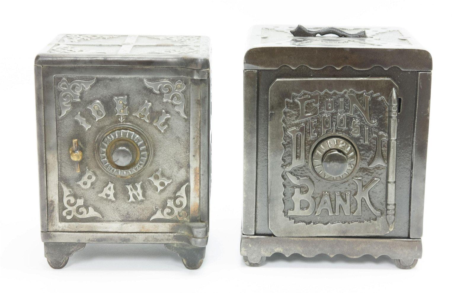Idea & Coin Deposit Safe Banks
