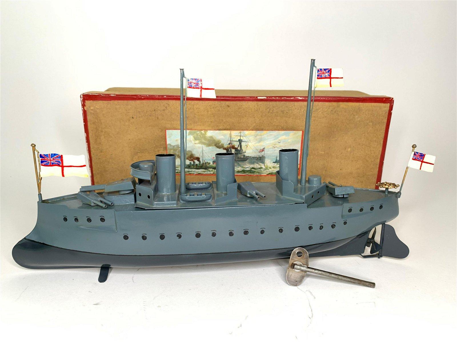 Bing Clockwork Tin Battleship