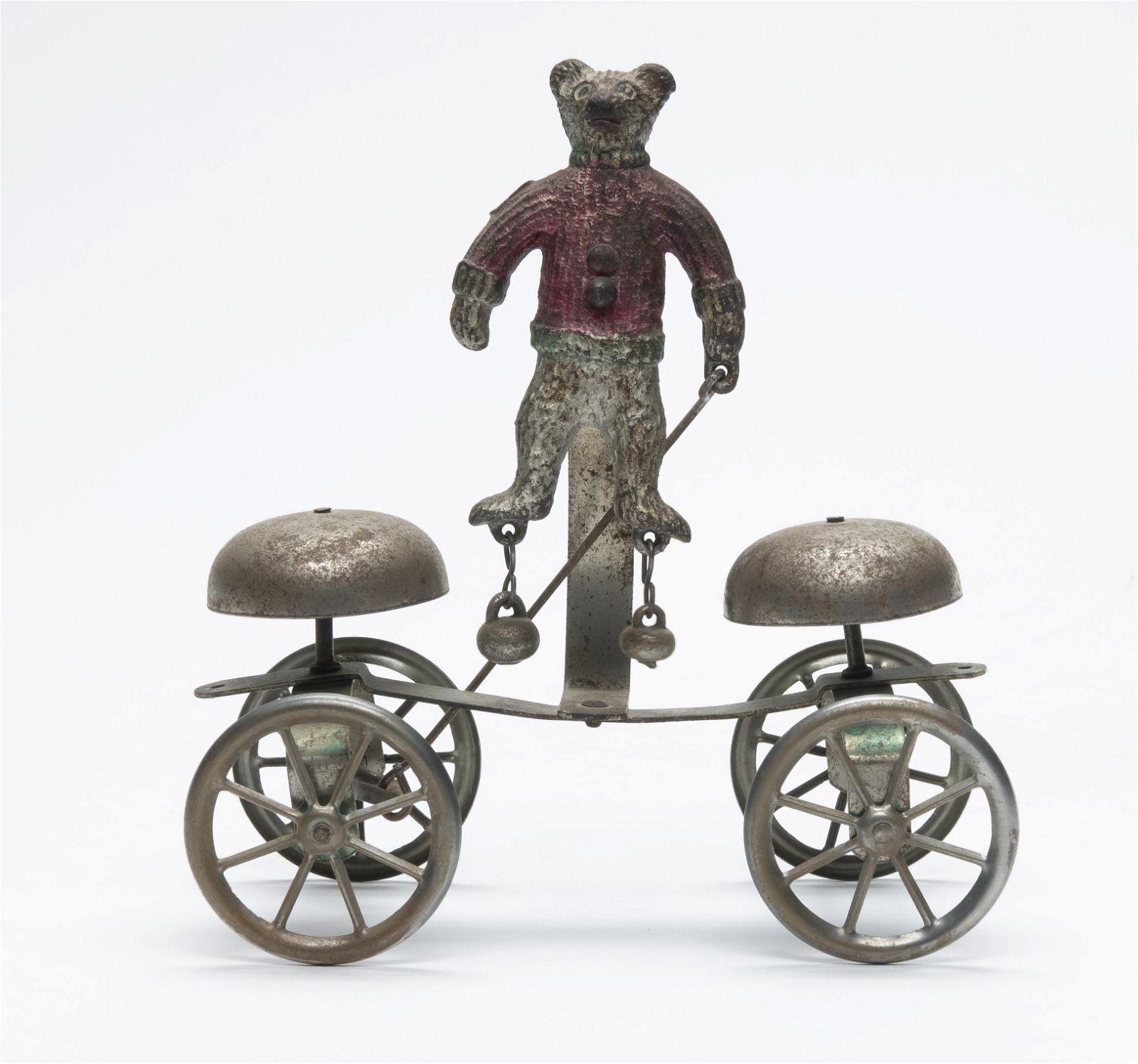 Gong Bell Single Teddy Bear Bell Toy