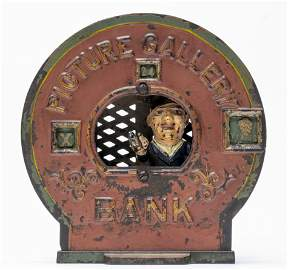 Picture Gallery Rare Iron Mechanical Bank